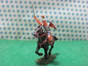 Vintage - Soldier Roman Praetorian IN Cavallo. 70 MM Elastolin 8459