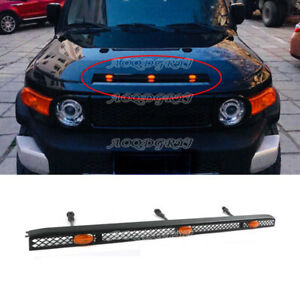 For Toyota FJ Cruiser 2007-2020 LED Car Vehicles Bonnet Hood Light Bars Decor