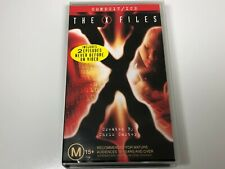The X Files VHS Video Tape x2 Episodes CONDUIT / ICE (NEW)