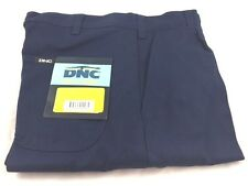 DNC 3311 DNC3311 Drill Trousers Pants Work Wear Cotton HW Pleat Navy 82R