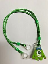 Hearing Aids safety Leash, RETAINER CORD CLIP - 2 Sided (Green Creator)