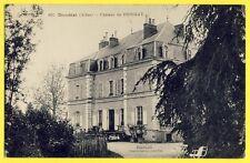 cpa Castle of France Auvergne DOMÉRAT (Allier) CHÂTEAU de BRIGNAT
