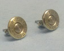 9mm Bullet Ear Rings! Unique un-dented primer! Great gift for a gun tottin' girl