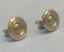 9mm Bullet Ear Rings! Unique un-dented primer! Great gift for a gun tottin' girl