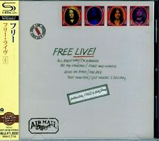 Free - Live! ( AUDIO CD in JEWEL CASE with OBI ) { ROCK MUSIC}