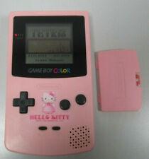 Nintendo Game Boy color Hello Kitty Edition