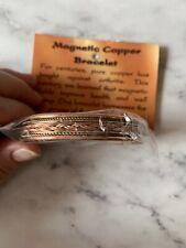 Copper Magnetic Bracelet Arthritis Men Women 5000 Gauss 2 Powerful Magnets