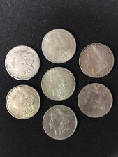 1878-1921 Silver Morgan Dollar US ONE Coin 90% Silver ALMOST UNCIRCULATED AU