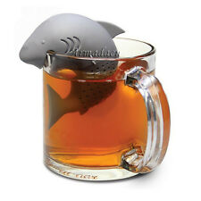 Shark Silicone Tea Strainer Tea Infuser Herbal Spice Filter Diffuser