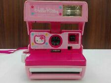 TOMY 1999 SANRIO Hello Kitty Polaroid 600 Instant Camera Pink With Bag JP