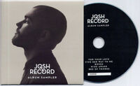 JOSH RECORD Pillars Album Sampler 2014 UK numbered 5-track promo only CD