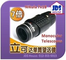 Nikula 7x18 Adjustable Focus Pocket Sized Monocular Outdoor Telescope