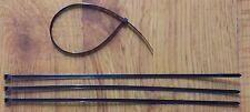 100PCS NYLON CABLE TIES 2.5MM X 150MM HEAVY DUTY