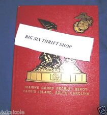 2004-05 MCRD Parris Island US Marine Recruit Depot Yearbook 2004 2005 2006 boot