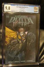 Dark Nights Death Metal #3 Peach Momoko Variant CGC 9.8 DC Comics Robin King