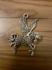 Antique Silver Horse Head Pendants Charms ~ Jewellery Making Job Lot UK