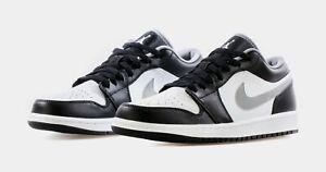Nike Air Jordan 1 Low Black White Grey   9US /  553558-040 / Order Confirmed