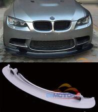 UNPAINTED GT4 STYLE FRONT LIP SPOILER FOR BMW 3SERIES E90 E92 E93 M3 08-13 b296F