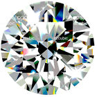 CUBIC ZIRCONIA LOOSE ROUND STONE CLEAR CZ EXCELLENT TOP 7A QUALITY U.S SHIPPER 5