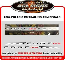 2004 POLARIS XC EDGE IFS reproduction Trailing Arms Decals