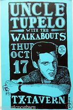 UNCLE TUPELO 1991 AUSTIN, TEXAS CONCERT TOUR POSTER-Wilco, Jeff Tweedy, Son Volt