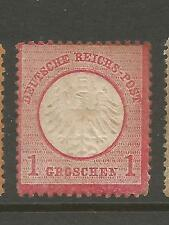 Germany 1872 1gr Rose Small Shield sc 4 CV$300 Mint No Gum