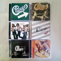 Chicago - Lot of 6 CDs - Hot Streets - Night & Day - Take Me Back - More