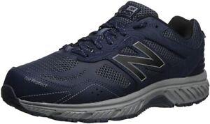 NIB - NEW BALANCE Men's '510V4 TRAIL' Pigment/Steel RUNNING SHOES - 10