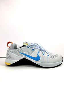 Nike METCON DSX Flyknit 2 Men Grey/Blue/White Training Gym Shoes US Size 8.5