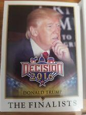 Decision 2016 The Finalists BASE SINGLES Card NrMint-Mint