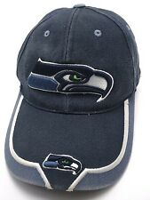 Seattle Seahawks blue adjustable cap / hat - Distressed condition.