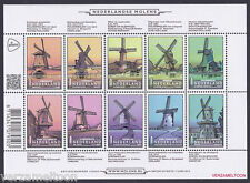 NVPH V 3069 -3078 NEDERLANDSE MOLENS 2013 vel postfris