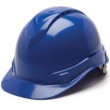 Ridgeline Vented Blue Hard Hat 4 Point Ratchet Suspension 21250