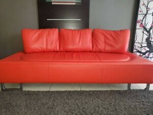de Sede DS-165 Leather Lounge Sofa made in Switzerland