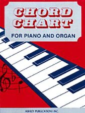 Chord Chart For Piano And Organ NEW 000510383