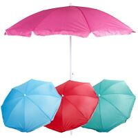 Garden Beach Picnic Chair Parasol Umbrella Sunshade Spike Sun Protection Shade