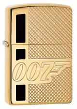 "Zippo 29860, ""James Bond 007"" Armor Lighter, High Polish Brass, Deep Carve"