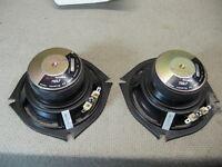 "Pair of Boston Acoustics 750LF 5"" Speakers Need Refoaming Item Guaranteed"