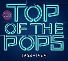 TOP OF THE POPS: 1964-1969: Various Artists - Gatefold Digipak - 3 x CD set! New