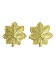 1p US Army Rangabzeichen Collar Badges Kragen Abz. Major Gold M41 M42 WKII WW2