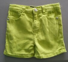 Baby Phat Girls' Lime Green Shorts, Size 6, Adjustable Waist