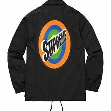 Supreme Spin Coaches Jacket Black Size SMALL -  Brand New, DS ***