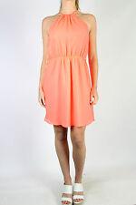 ZARA TRF Orange Halter Dress Size M (10-12)