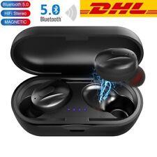 Bluetooth 5.0 Kopfhörer Wireless in Ear TWS Headsets kabellos mit Ladebox