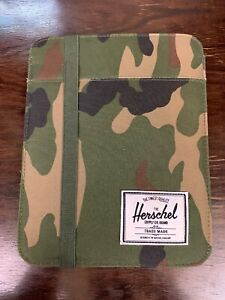 Camo Hershel Supply Co. Brand Tablet Sleeve Padded Case Ipad
