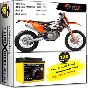 AGM Battery Gel KTM 400 EXC R 450 EXC 500 EXC 505 SX-F SX 520 525 530 EXC-R 12V