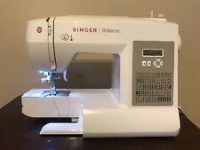 Singer 6180 Brilliance Electronic Sewing Machine. No Pedal.