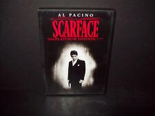 Scarface - DVD - 2 Disc Platnium Edition - Al Pacino - Near Mint!