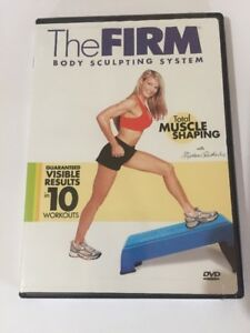 The Firm - Body Sculpting System: Total Muscle Shaping (DVD, 2004) Brand New