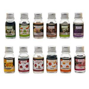 12x Duftöl im Set verschiedene Raumduftöle Raumduft Duftöllampe Aromaöl je 10ml